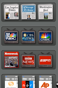 News Addict _ Home Screen