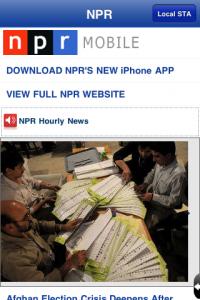News Addict _ NPR