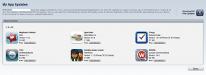 all app updates1 300x109 Quick Guide: One iPhone, Multiple iTunes Accounts
