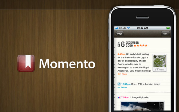 App Review: Take a 'Momento' to Enjoy This Journaling App