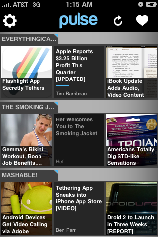 App Review: Pulse for iPhone – Best Reader App of the Year?