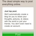 Posterous iPhone App