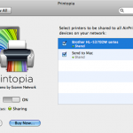 How To Use AirPrint With An Unsupported Printer Using Printopia