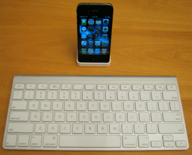 Bluetooth keyboard for iPhone