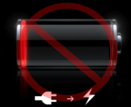 Dead iPhone battery