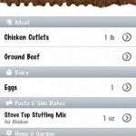 Groceries iPhone App Review