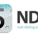 iOS NDA