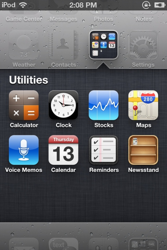 how to hide the Newstand icon in iOS 5