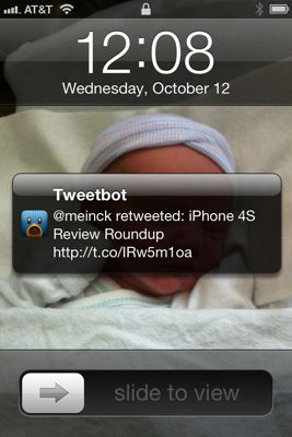 Notifications in iOS 5
