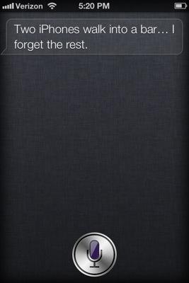 Siri jokes