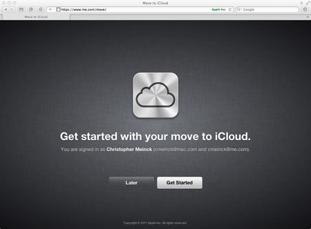 Getting Started with iCloud