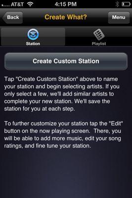 Custom holiday iPhone app
