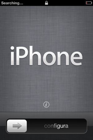 Set up iPhone 4S