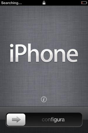 Set up iPhone 4S