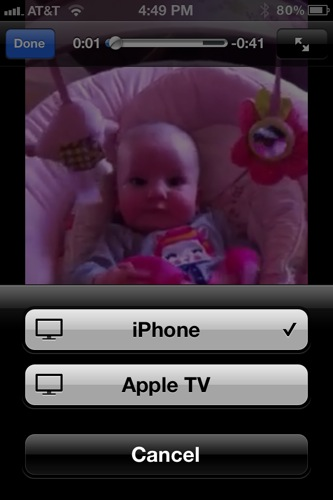 Airplay YouTube to Apple TV