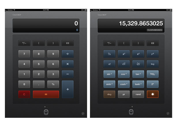 Calculator iPad