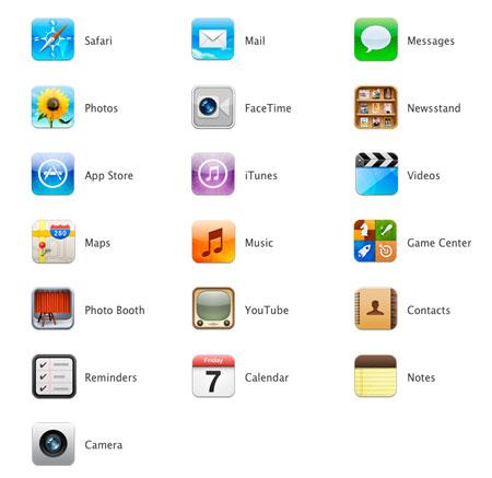 iPad 2012 apps