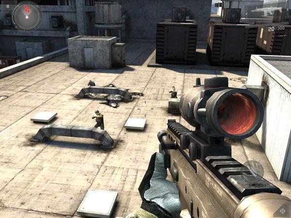 Modern Combat 3 on iPad