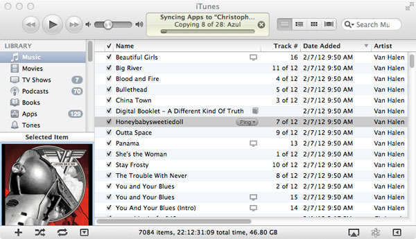 iTunes Music Library