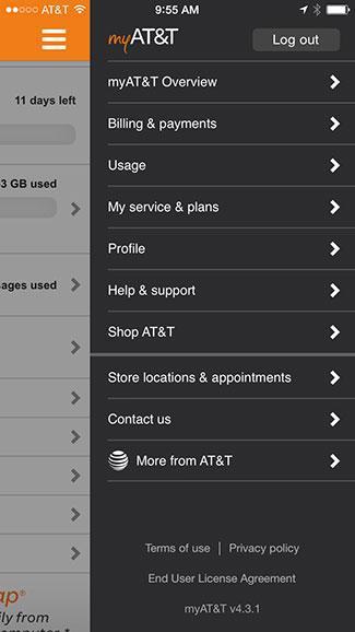 my AT&T app