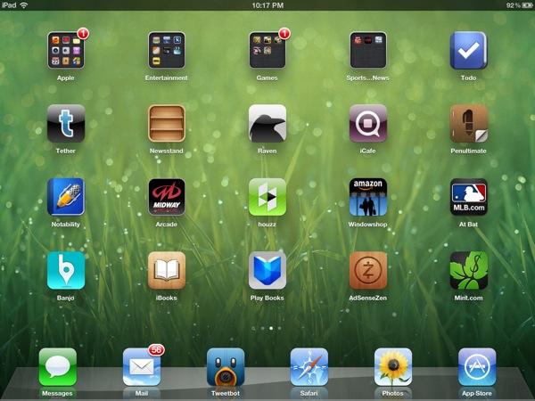 New iPad retina