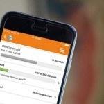 Track data usage iPhone