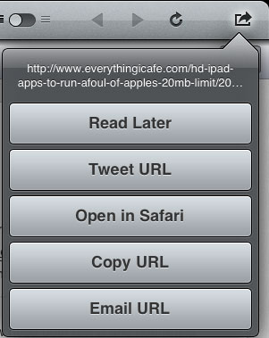 Tweetbot share