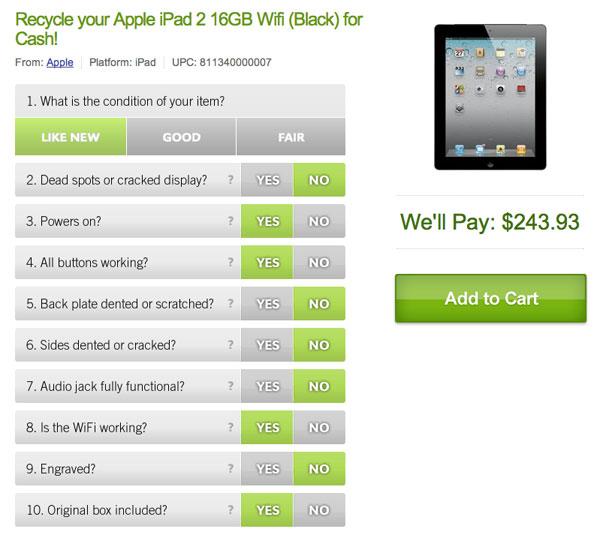 Worth iPad 2