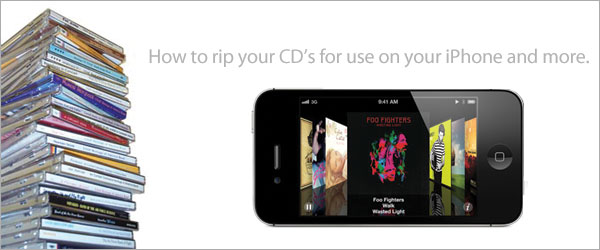 CDs to iPhone