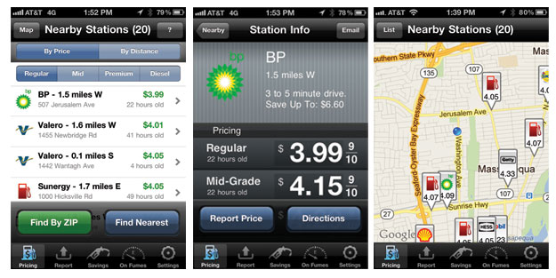 Fuel Finder iPhone app