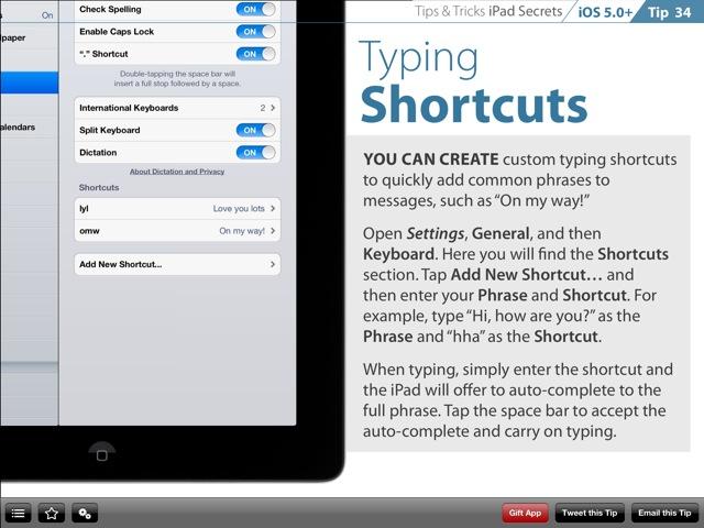 iPad help tips