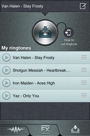 Download ringtones