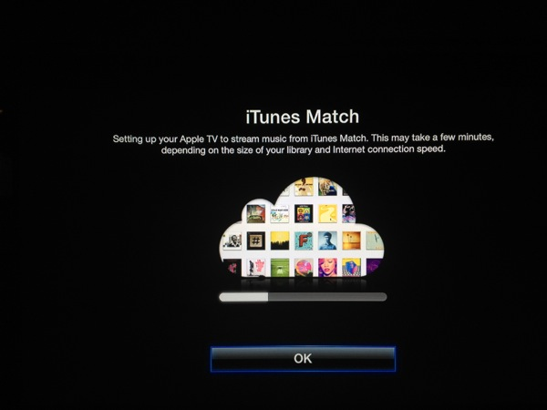 iTunes Match AppleTV
