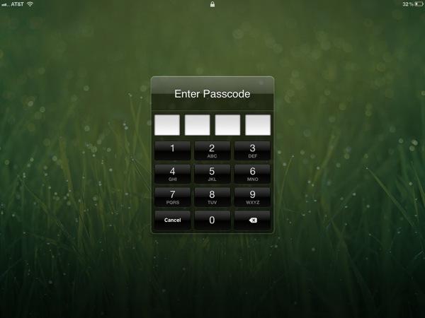 Parental controls iPad