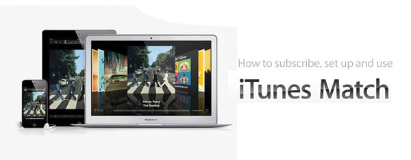 how to setup iTunes Match