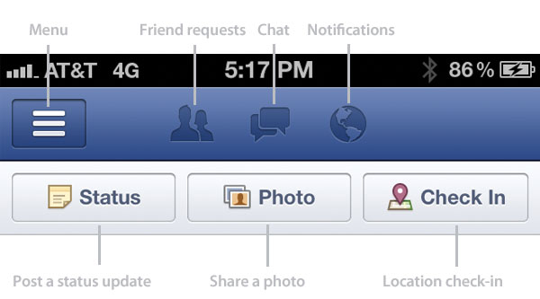 Facebook iPhone how