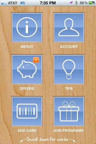 how to create loyalty card app