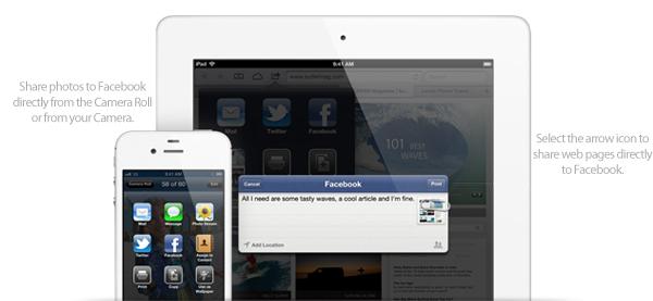 Facebook iOS 6