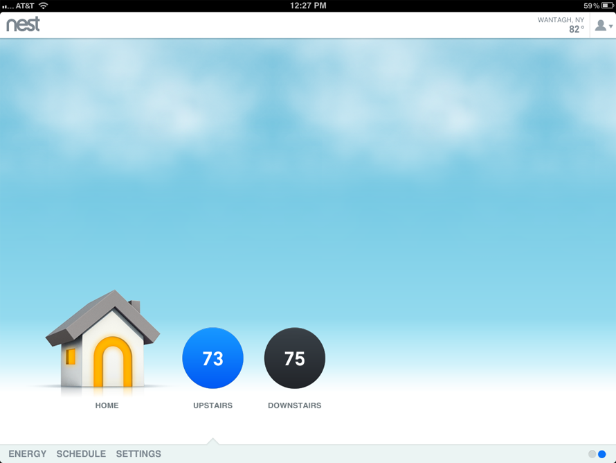 Nest for iPad