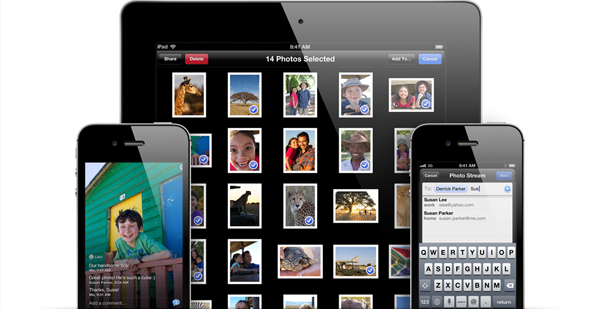 Shared Photo Streams iOS 6