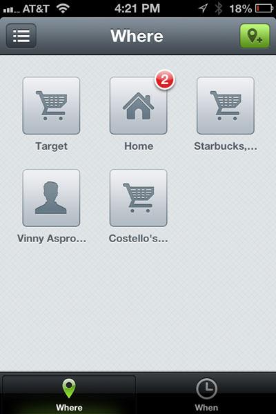 Checkmark screenshot