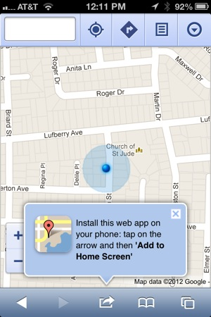 Add Google Maps iOS 6