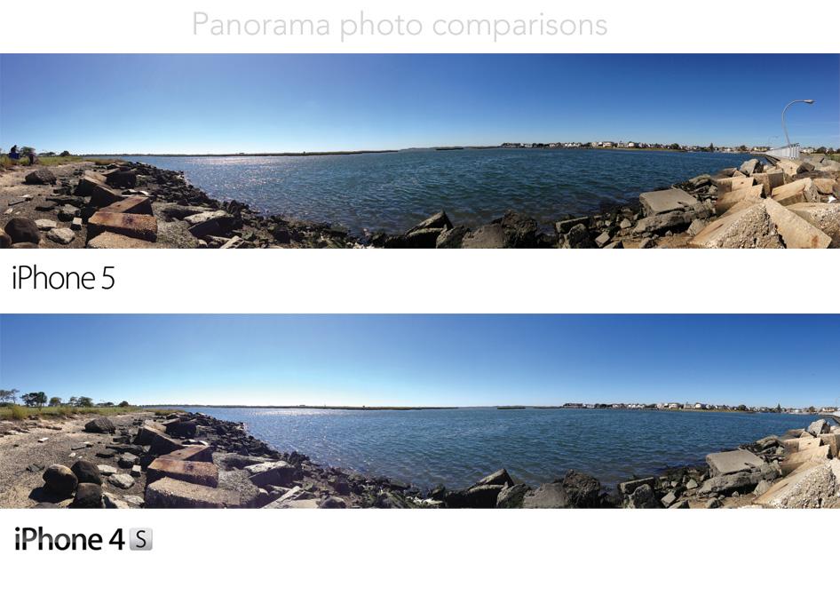 Panorama comparison