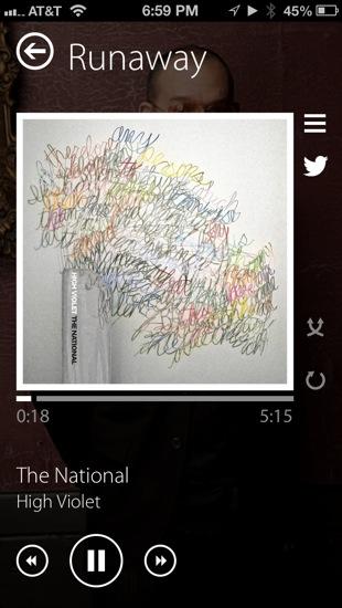 Alternate music app iOS