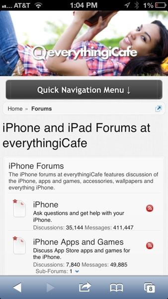 forums mobile