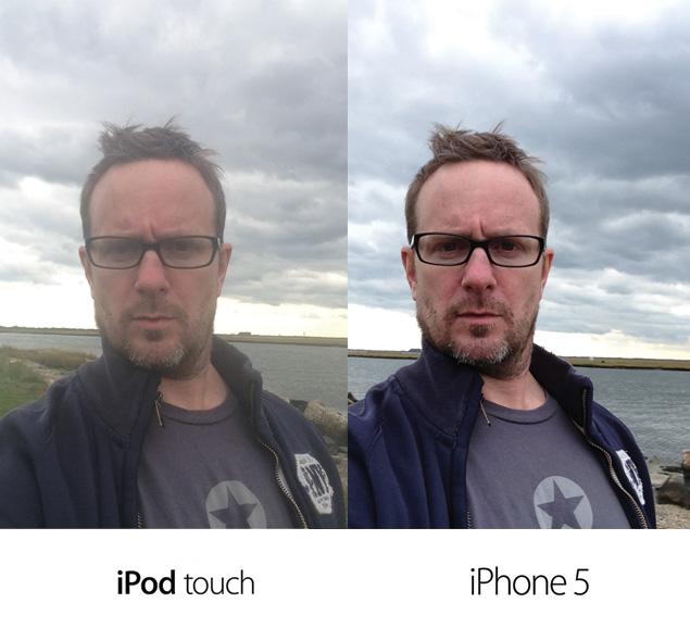 Front facing camera comparison