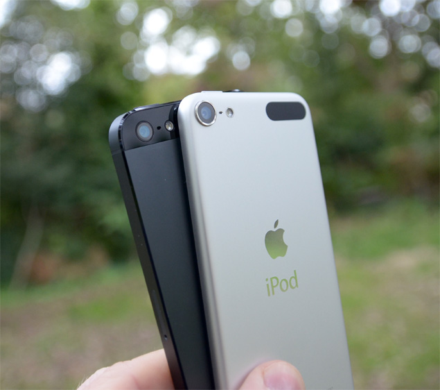 iPhone 5 and iPod touch