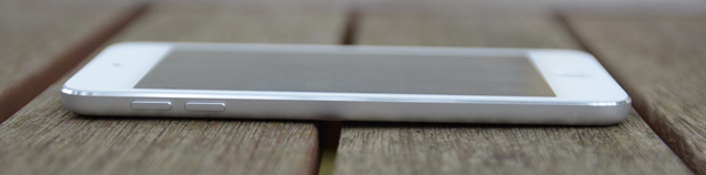 iPod touch silver
