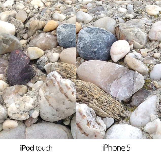 iPod touch vs iPhone 5