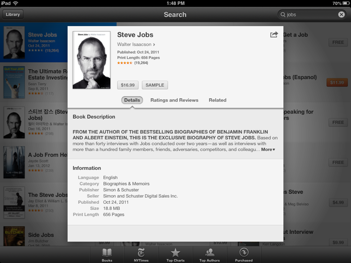 iBooks for iPad mini